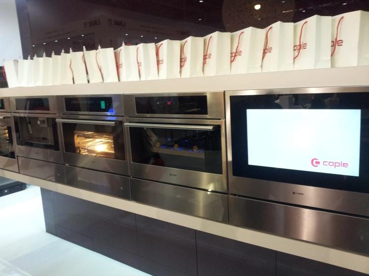 Caple's built-in oven