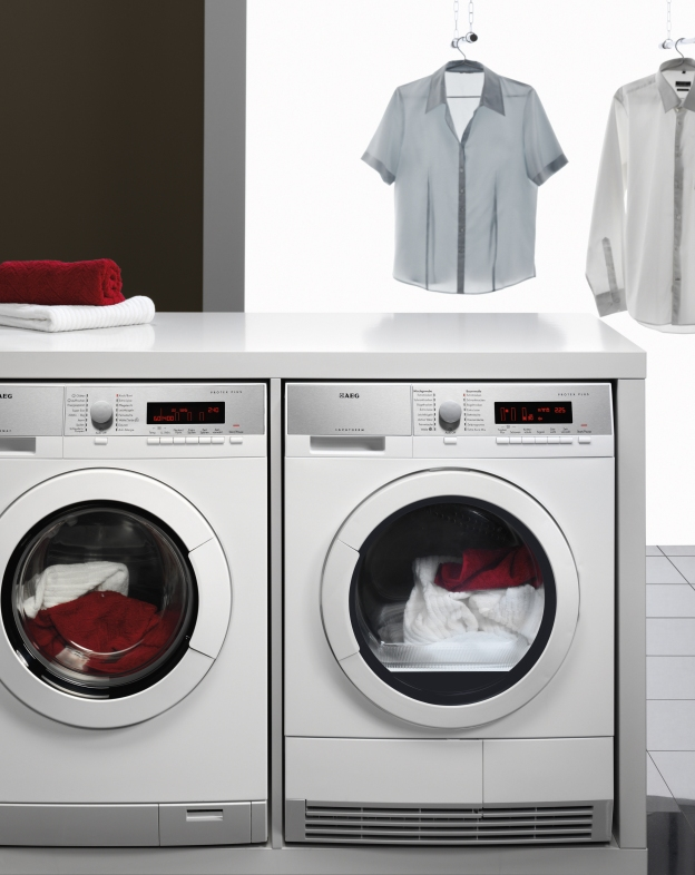 AEG's ProTex washing machine and tumble dryer
